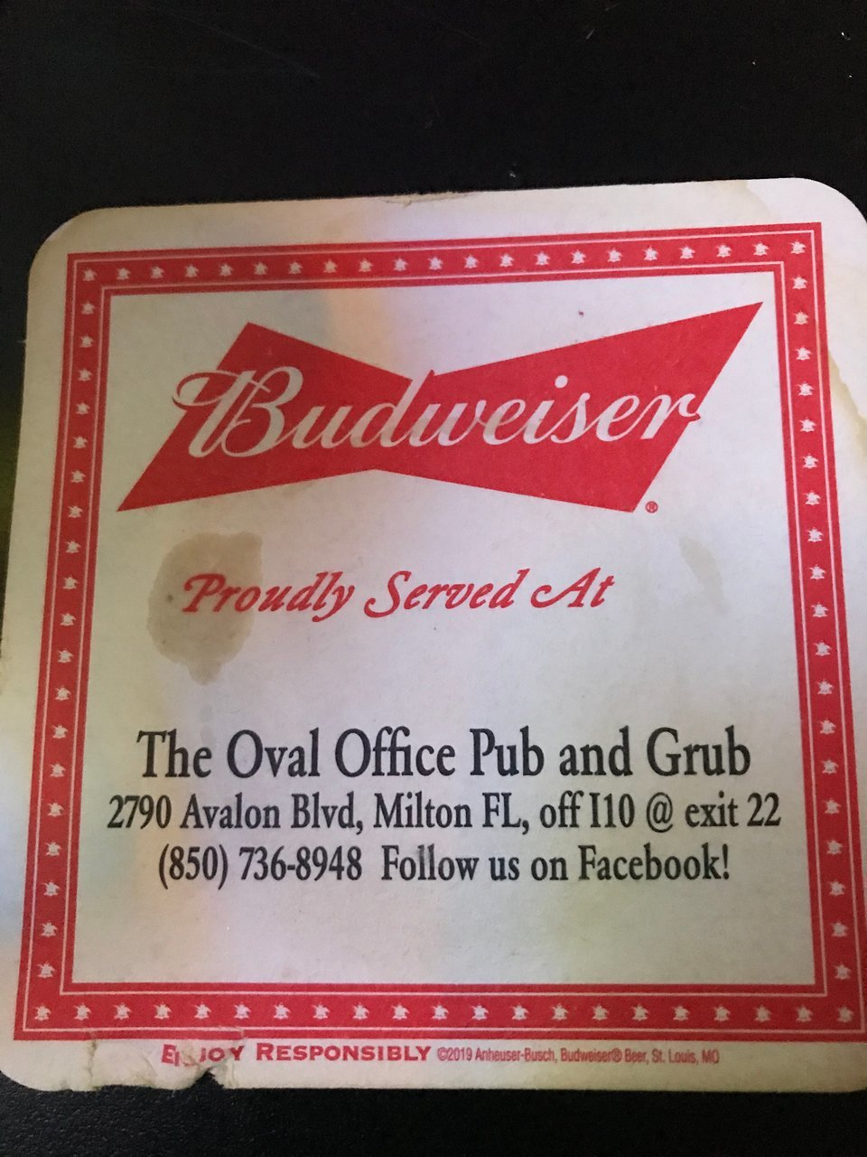 Oval Office Pub & Grub